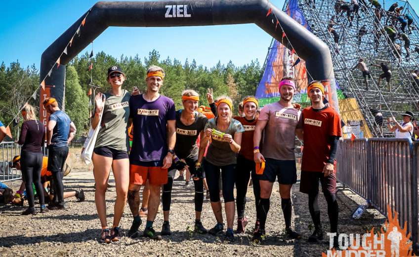 Tough Mudder-im-Ziel