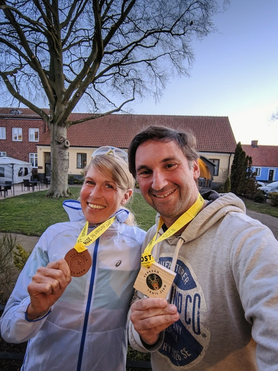Österlen Spring Trail - happy finisher