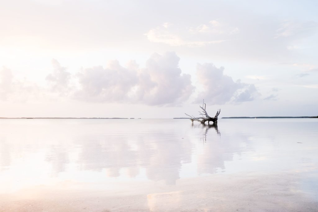 Photography Tips - Reflection of sky in water